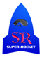 SUPER-ROCKET Logo Mark